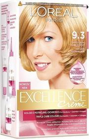 Loreal Excellence Creme 9.3 Bardzo jasny blond złocisty