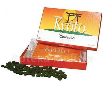 SWANSON Health Products Kyoto Chlorella 200 mg - 300 tabletki