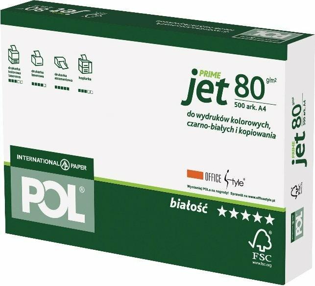 International Paper Papier Poljet A4 POLJE080X272
