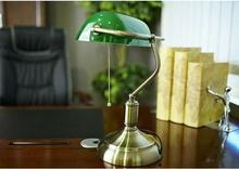 Lumina-Deco Lampka biurkowa BANKIERSKA LDT 8822 Zielony - Deco