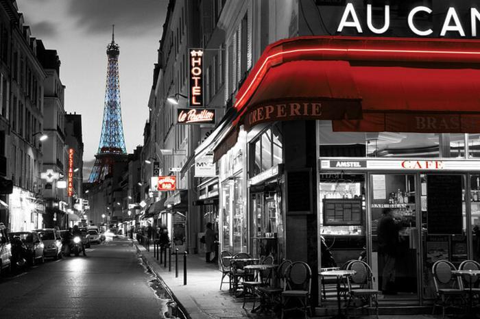 Pyramid Posters Paryż, Widok na Wieże Eiffel - plakat PP32639