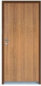 Witex Drzwi wejściowe stalowe  Super-Lock WSL-1000 90 prawe orzech