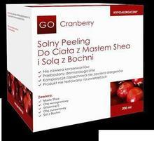 Laboratorium Nova GoCranberry - Solny Peeling Do Ciała z Masłem Shea i Solą z Bochni 200ml