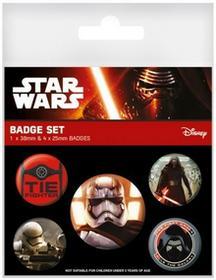 Star Wars Episode The Force Awakens - przypinki