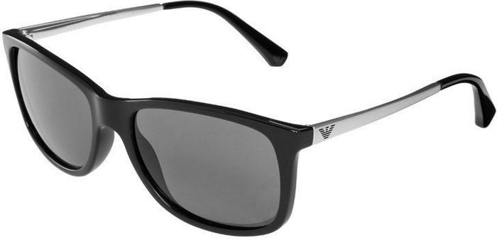 99583bfa6c052 Emporio Armani Okulary Przeciwsłoneczne Biało Czarny 0ea4023 Ceny