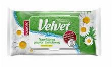 Velvet NAWILŻANY PAPIER TOALETOWY NATURALNIE PIELĘGNUJACY RUMIANEK