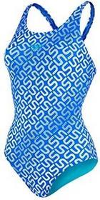 Speedo Monogram Allover Muscleback 8-09247A346 damski strój kąpielowy