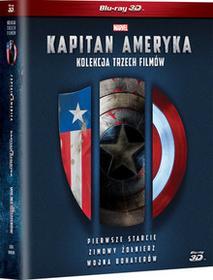 Kapitan Ameryka Trylogia 3D Blu-Ray) Joe Johnston Anthony Russo Joe Russo