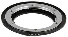 Fotodiox Pro Lens Mount Adapter, Olympus OM Lens to Canon EOS CAMERA, for Canon EOS 1d, 1Ds Mark II, III, IV, 1DX, 1DC, 5d, 5d Mark II, III 7d, 50d 60d, 60d, Digital Rebel T3i, T4i, T5i, SL1, and C300 07omeosp