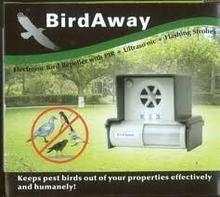 Bird-Away -Ultradźwiękowy odstraszacz ptaków z czujnikiem ruchu LS-987BF