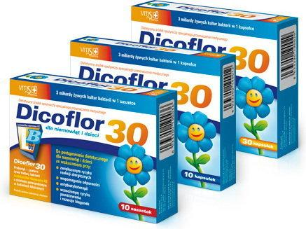 Vitis Pharma Dicoflor 30 10 szt.