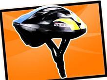 Kask rowerowy Powerblade FCB11_BLK_BLUE_YEL_S