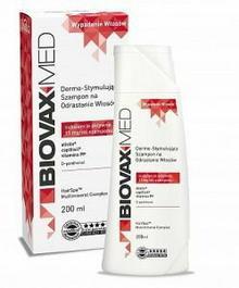 Lbiotica BIOVAX MED Szampon stymulujący odrost włosów 200ml