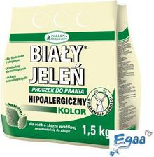 Pollena OSTRZESZÓW BIAŁY JELEŃ Proszek do prania hipoalergiczny do koloru 1,5kg
