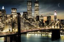 New York (Manhattanlights) - plakat