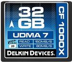 Opinie o Delkin ddcfcombat1000karta pamięci 32GB UDMA 7Compact Flash Card