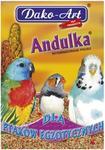 Dako-Art Andulka proso witaminizowane dla ptaków egzotycznych 500g