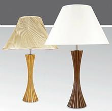Kaja Lampa stołowa drewniana ze Ĺ>ciemniaczem K-MT6888M