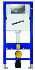 Geberit Stelaż podtynkowy WC Unifi x Delta 50 cm matowy chrom