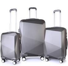 Sumatra Zestaw walizek tak(4) Casso ABS 1011 ABC szary