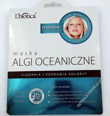 Lbiotica BIOVAX MASKA ALGI OCEANICZNE 23ml 7048578