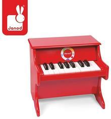 Janod Czerwone Pianino Confetti J07622