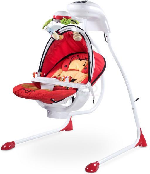 Caretero Bugies Red hustawka niemowlęca