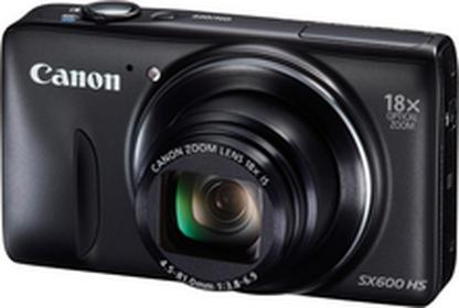 CanonPowerShot SX600 HS czarny