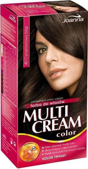 Joanna Multi Cream 3D 40 Cynamonowy Brąz