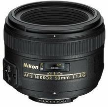 Nikon AF-S 50mm f/1.4 G