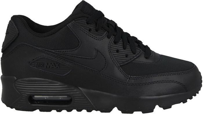 Nike Air Max 90 Mesh Gs 833418 006   Czarny, Seledynowy