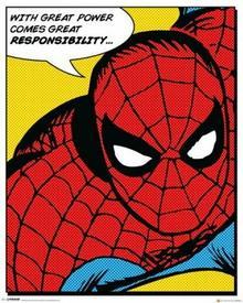 Spider-man (Quote) - Plakat
