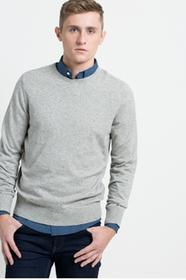 Tommy Hilfiger Sweter Sophisticated 08578A1660 jasny szary