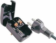 Adapter (przejściówka) zasilania gniazdo PL - wtyk UK (Wielka Brytania, Anglia)