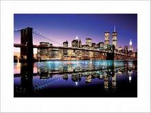 Brooklyn Bridge (Colour) - reprodukcja