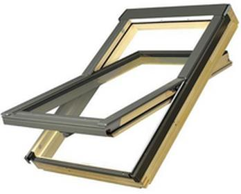 Fakro okno dachowe drewniane obrotowe FTS-V U2 z nawiewnikiem 94x118 5900988723081