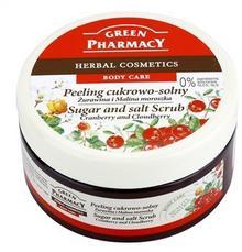 Green Pharmacy Body Care Cranberry & Cloudberry peeling cukrowo-solny 0% Parabens Silicones SLES SLS 300 ml