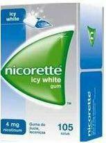 McNeil Nicorette Icy White Gum 4mg 105 szt.