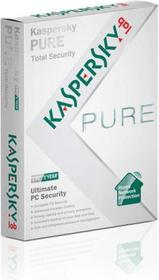 Kaspersky Pure Total Security (1 stan. / 1 rok) - Nowa licencja