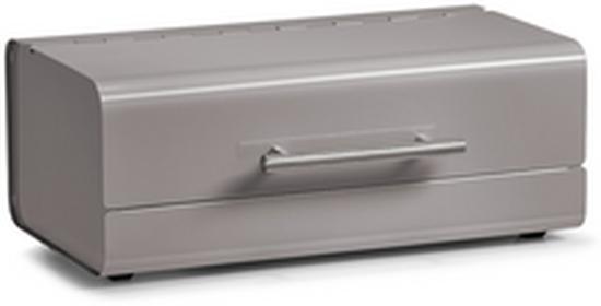 Zeller Metalowy chlebak pojemnik na pieczywo kolor taupe B0058BS7VA