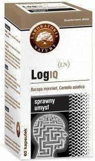 Laboratoria Natury LOGIQ sprawny umysł 60 szt.