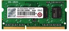 Transcend Pamięć do notebooków SODIMM DDR3L 1600Mhz2GB Non-ECC SRx8 1