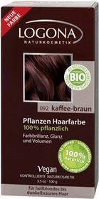 Logona roślinna kawowy brąz