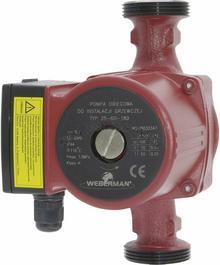 Weberman Pompa obiegowa 25/40 do c.o. (RED) R022101001