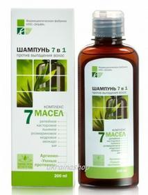 Green Pharmacy Szampon wypadające 7 w 1, 7 Olejków 6013966