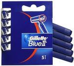 Gillette Blue II 5szt Maszynka do golenia