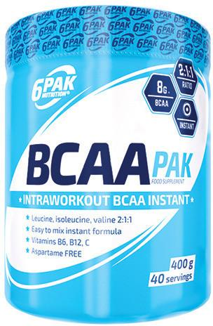 6PAK Nutrition BCAA PAK - 400g