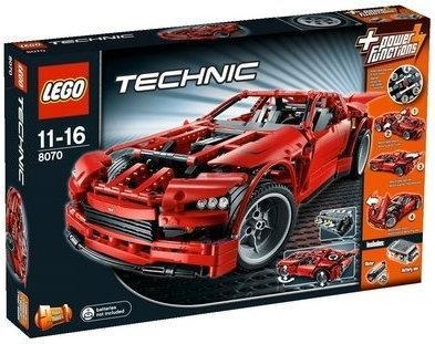 LEGO Technic Super Samochód 8070