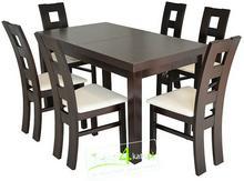 FRONTI Komplet Stół 120 + 6 krzeseł 124 W Super Cenie PROMOCJA!
