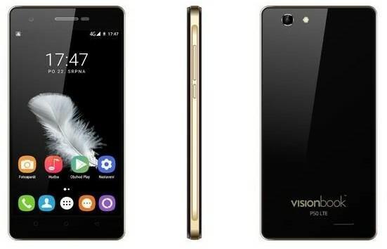 Umax VisionBook P50 LTE Czarny
